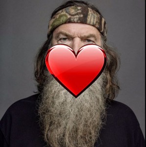 "If you search ""Phil Robertson x Phil Fish fanfiction,"" you can read stories about them making out."