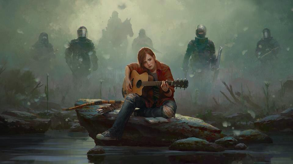 It's pretty cool. Ellie looks older and there's like zombies and she has a guitar, oh, nevermind, you can just look at it for yourself lol