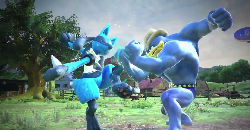 It's like Super Smash Bros. with Pokemon.
