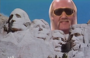 Pictured: one of the most iconic symbols of the United States, and Mt. Rushmore