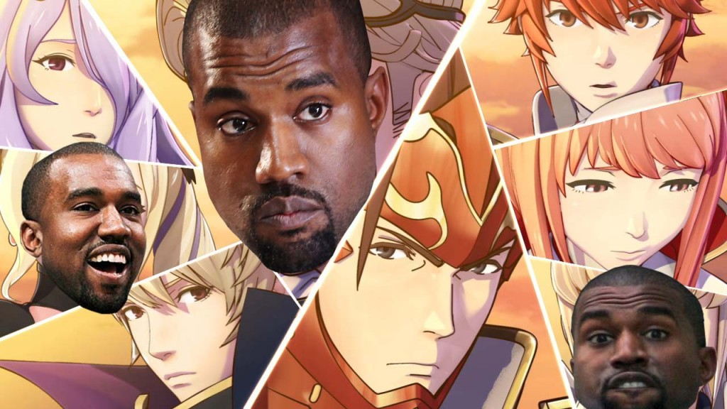 Kanye himself is a fan of anime. Don't you want him to be able to watch it in the future? He can't if he doesn't have a future. Think about that for a second. Think about a world without Kanye West.