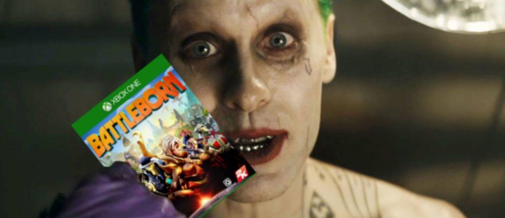 Joker Leto, goddamn it. I mean, Jared Leto as The Joker, enjoys the spoils of his mischief.
